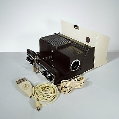 Sawyers Crestline Deluxe 2x2 Slide Projector Color Film Photography w/Orig Tag