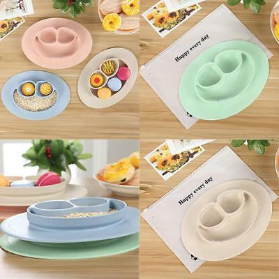 Lovely Mat Baby Kids Food Tray Placemat Plate Bowl Non-toxic