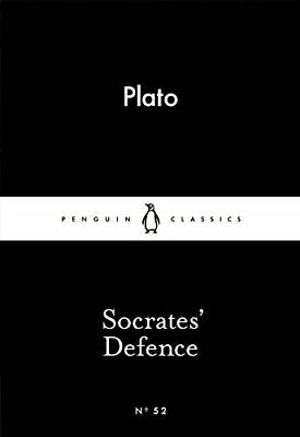 Socrates Defence (Penguin Little Black Classics) by Plato New Paperback Book