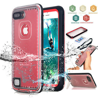 Waterproof Snow Dirtproof Shockproof Tough Case Full Cover For iPhone 7 / 7 Plus