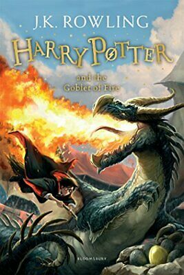 Harry Potter and the Goblet of Fire: 4/7 Har by J.K. Rowling New Paperback Book