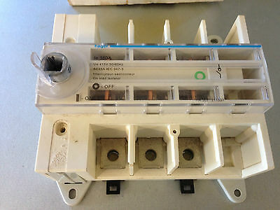 Hager 160Amp Isolator 3P Main Load Break Switch HA307