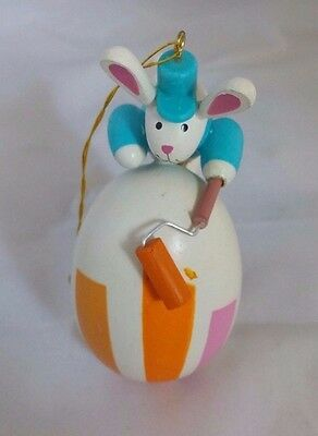 Avon Love A Bunny Collection Painting Bunny Easter egg Ornament