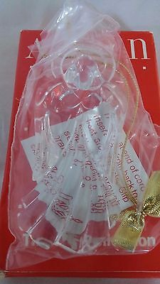 Avon Gift Collection Images of Christmas Angel Ornament Collectible decoration