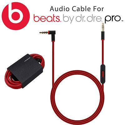Replacement Stereo Audio Cable Cord For Beats by Dr. Dre PRO DETOX Headphones