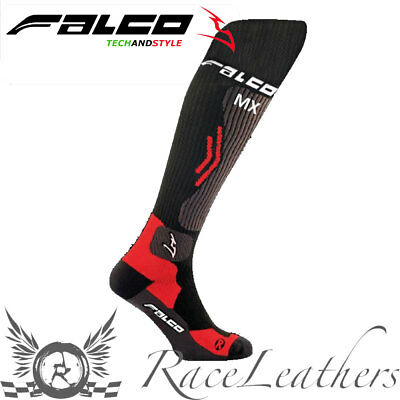 Falco Technical Compression Mx Offroad Motorcross Motorbike Motorcycle Socks