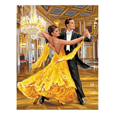 Royal Paris Tapestry Printed Canvas Ballroom Dancers | 98801420546
