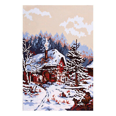 COLLECTION D'ART | Printed Canvas: Snow Scene |CD6138