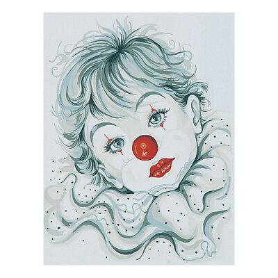 COLLECTION D'ART | Printed Canvas: Pierott Clown |CD10187