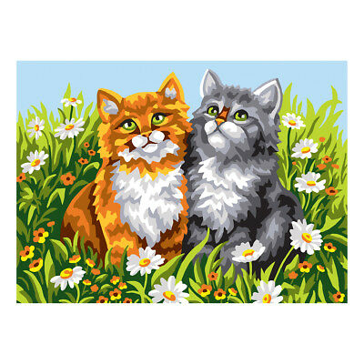 COLLECTION D'ART | Printed Canvas: Two Kittens |CD6307