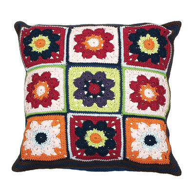 ANCHOR | Crochet Kit Living - Make A Floral Cushion Pillow - Advanced | ALR61