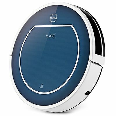 Geniune UK ILIFE V7 Super Mute Sweeping Robot Home Vacuum Cleaner Dust Cleaning
