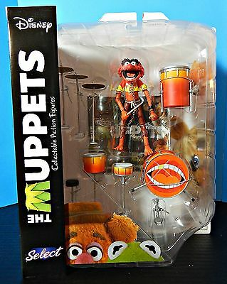 Muppet Figures Series II ANIMAL WITH DRUMSET by Diamond Select MOC