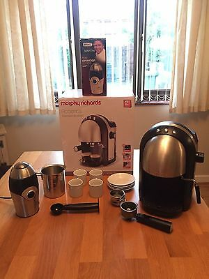 Morphy Richards Coffee Maker With Frother : Morphy Richards Mister Cappucino Coffee Machine. ?10.00 - PicClick UK