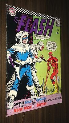 FLASH #166 -- December 1966 -- Captain Cold -- VG/F Or Better