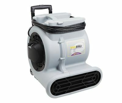 Commercial Carpet Floor Fan Blower Dryer, 3-Speed Air Mover, 25 ft Cord 2200 CFM