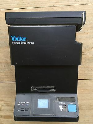 Vivitar Instant Slide Printer with Polaroid Film! Excellent!