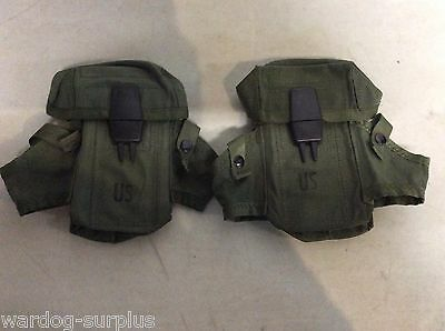 New Lot of 2 US Military Army Ammo Case 30 round M16 Rifle LC1 Alice Mag Pouch