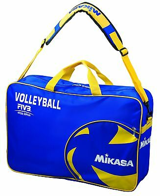 Mikasa Volleyball Ball Bag-Blue / Yellow 60.0 x 40.0 x 2.0 CM 18 Litres 1937