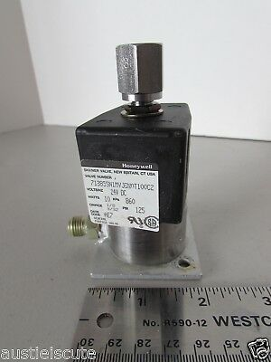 Honeywell Skinner Pneumatic Air Control Valve 24V DC 71385 Made in USA
