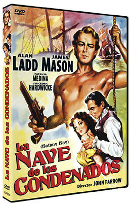 Botany Bay NEW PAL Classic DVD John Farrow Alan Ladd James Mason Patricia Medina