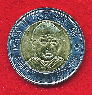 Vatican City 1984 500 LIRE  (Bi-Metallic)