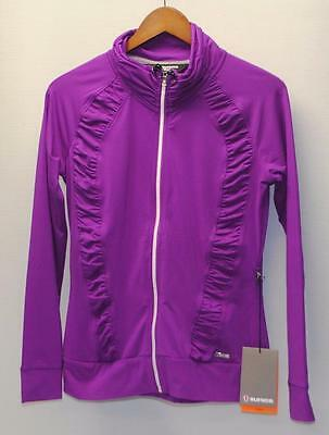 New Ladies SMALL Sunice Sport long sleeve mid layer golf jacket S72500