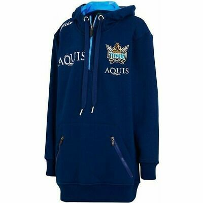 Gold Coast Titans NRL 2017 Classic Players 1/4 Zip Hoody Size S-3XL!