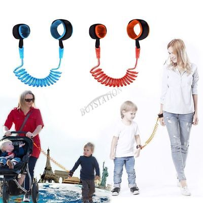 Safety Harness Leash Baby Child Anti Lost Wrist Link Strap Rope for Toddler Kids