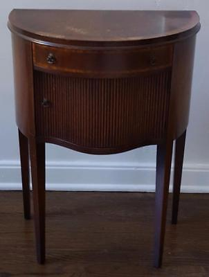 GORGEOUS Antique Bed Side Night Table - BEAUTIFUL DETAIL - WONDERFUL PIECE
