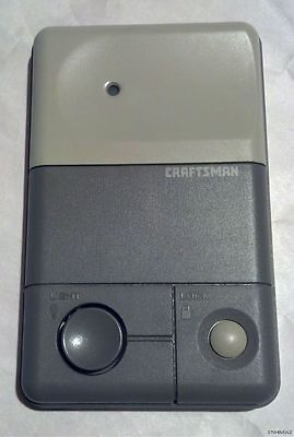 Craftsman Deluxe 3-Button Wall Control