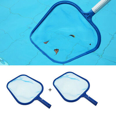 2 x Swimming Pool Spa Hot Tub Pond Fountain Leaf Skimmer Mesh Net Cleaner Tool