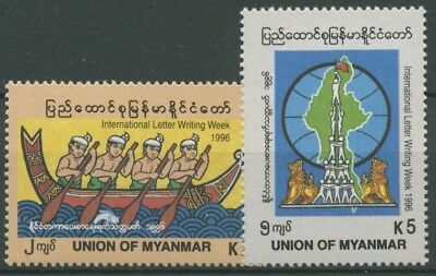 Birma (Myanmar) 1996 Internationale Briefwoche 333/34 postfrisch