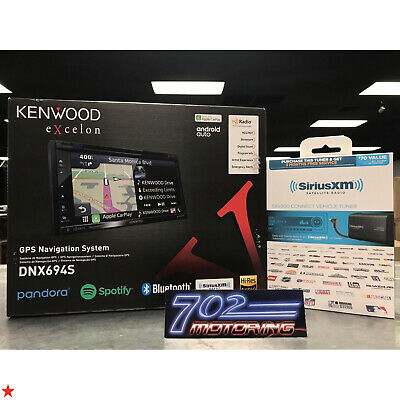 Kenwood Excelon Dnx694S Apple Car Play Android Auto Spotify Bluetooth Dnx 694S A