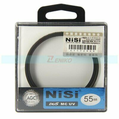 55mm NiSi Ultra Slim Pro MC UV Ultra Violet Professional Lens Filter