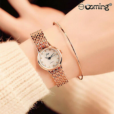 Women Luxury Stainless Steel Watch Lady Delicate Classic Stylish Wrist Watches