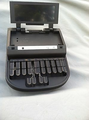 ProCAT Stylus 2 court reporting writer with wheel rolling black case. MINT COND.