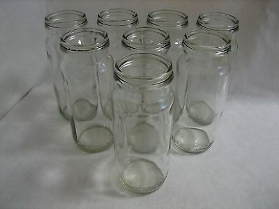 Set of 8 Vintage Fowlers Preserving Jars Size No.27