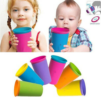 3 colours 360 Leakproof Baby Safe Drinking Training Learn Drinkware Magic Cup