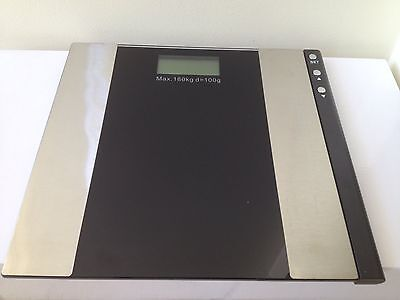 Personal Electronic 2 IN 1 DIGITAL Weigh SCALE & BODY FAT Water SCALE 180KG