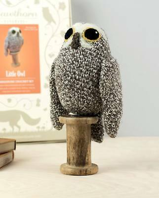 Hawthorn Handmade Little Owl amigurumi crochet kit & pattern – SPECIAL OFFER!