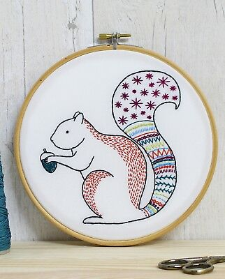 Hawthorn Handmade Squirrel embroidery kit  – SPECIAL OFFER!