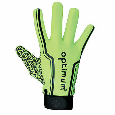 Optimum Velocity Thermal Full Stik Mitt Rugby Hockey Glove Fluo