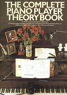 THE COMPLETE PIANO PLAYER THEORY BOOK Sheet Music Shop Soiled