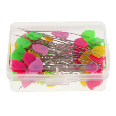 80pcs Sewing Pins Dressmaking Quilting Tools Patchwork Pins Needle Craft Supply
