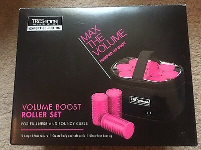 Tresemme Volume Boost Roller Set Hair Styler Curls Heated, Brand New Condition