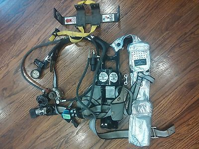 MSA MMR Custom 4500 SCBA Air Pack Harness Prepper Firefighter Respirator Gear