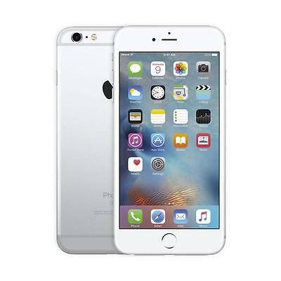 Apple iPhone 6s Plus - 128GB - Silver (Unlocked) A1687 (GSM) (MKUY2LL/A)