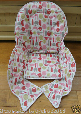 Baby Dan Highchair Seat Cushion Fabric Cover For Infant