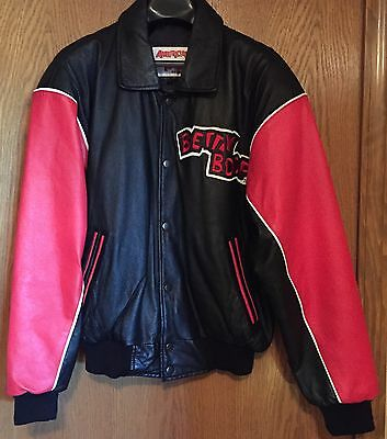 Leather Betty Boop Jacket